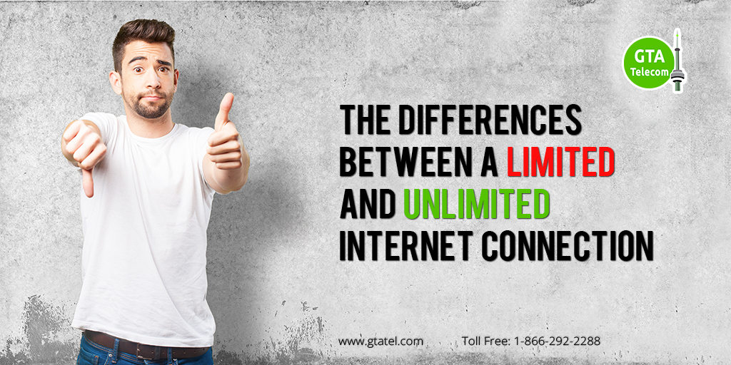 The Differences Between a Limited and Unlimited Internet Connection