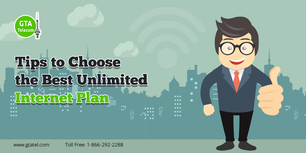 Tips to Choose the Best Unlimited Internet Plan